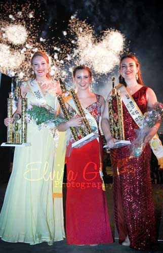 Miss Colusa County Pageant Winners 2016