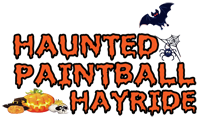 Haunted Paintball Hayride, click for home.